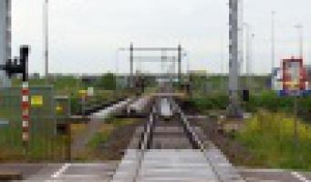 Spoorbrug defect, geen treinverkeer