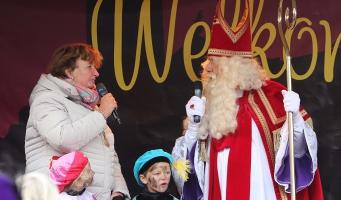 Sint in Alphen en Boskoop aangekomen