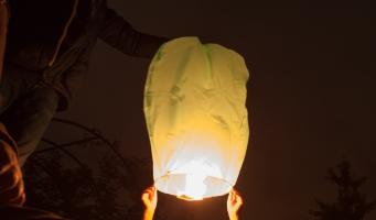 Veilig naar 2017: pas op met wensballonnen