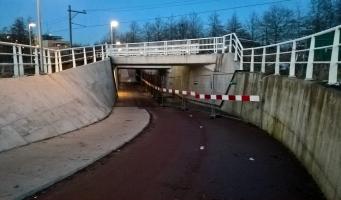 Tunnel Boezemlaan Boskoop wordt deze zomer hersteld