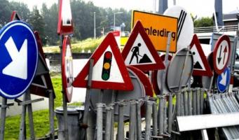 Volgend weekend afsluiting van N207 bij Leimuiden