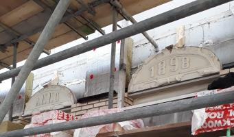 Oude ornamenten Hooftstraat in ere hersteld