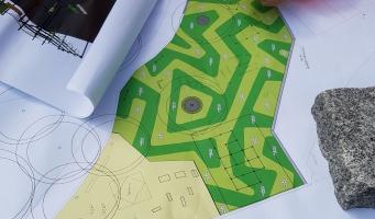 De plannen voor het sportpark in Park Zegersloot.