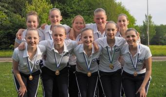 Synchroondames twee keer brons op landelijke wedstrijd