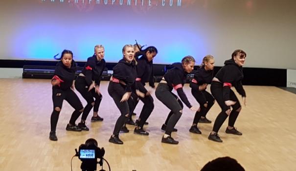 Alphense danscrew gaat voor Europees kampioenschap