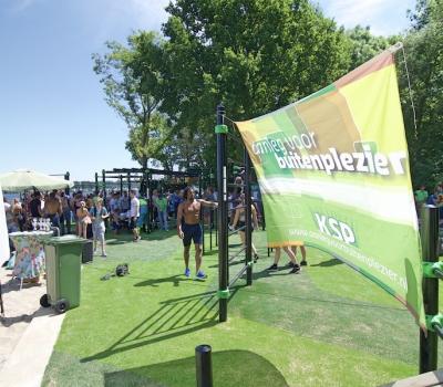 Vernieuwde Urban Athletes Park feestelijk geopend