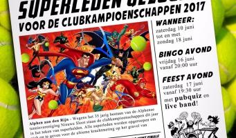 Tennisvereniging Nieuwe Sloot viert 35-jarig jubileum