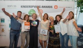 Junis weer genomineerd voor Kinderopvang Awards