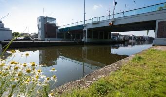 Koningin Julianabrug in Alphen aan den Rijn.