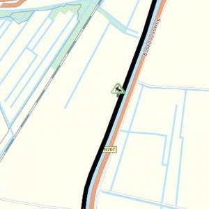 Fietspad op de Westgouweweg afgesloten