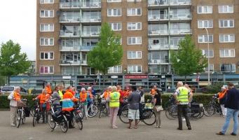 Geslaagde fietsdag statushouders en senioren