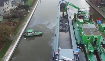 Sanering van bodem Oude Rijn feestelijk afgesloten