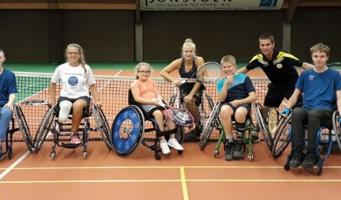 Flinke impuls voor rolstoeltennis in Alphen en regio