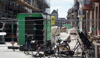Hooftstraat vanaf zaterdag weer continu doorgankelijk