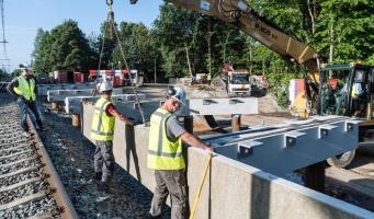 Werk aan spoor tussen Alphen en Gouda afgerond