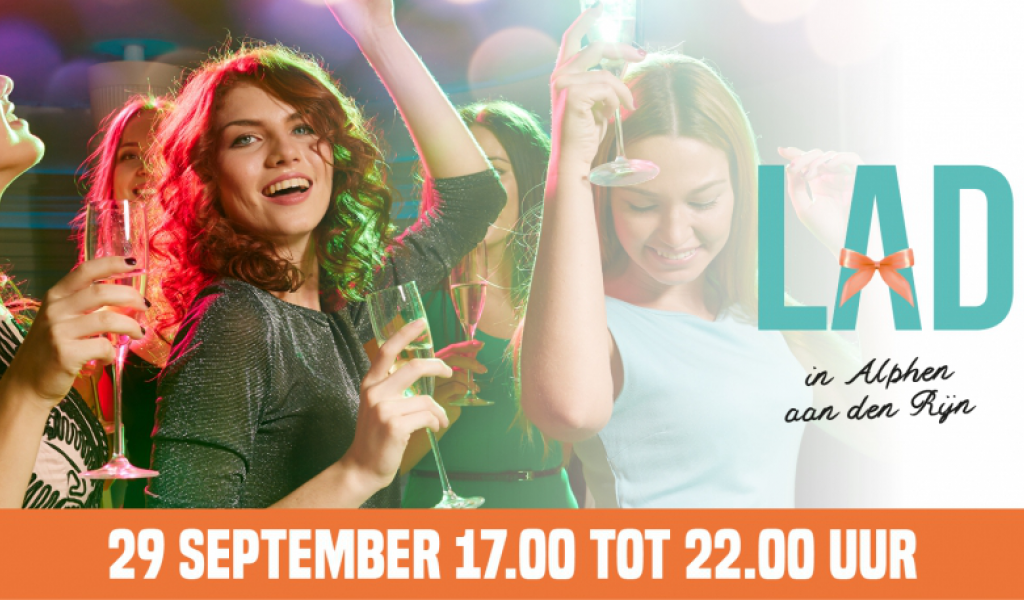 Ladies Night op vrijdagavond 29 september