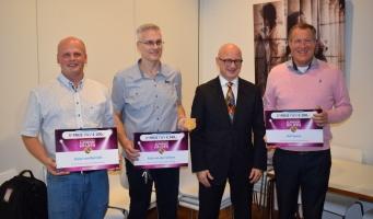 Arie van der Schoor winnaar Duurzaamheidspenning