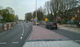Fiets- en voetpaden Prins Bernhardlaan weer geopend