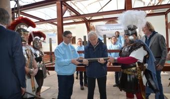Opening Romeins Restauratiewerf Zwammerdamschepen
