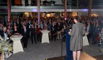 Nieuwjaarsreceptie gemeente Alphen aan den Rijn
