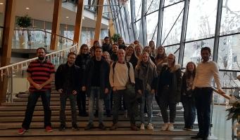 Studenten van de Hogeschool Utrecht