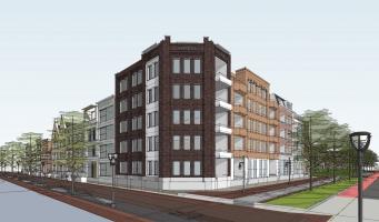 Nieuwbouw op het Aarplein is medio 2021 gereed