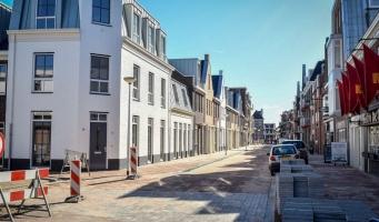 Hooftstraat nu verbonden met de Thorbeckestraat