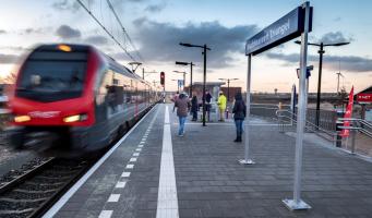 Reizigers geven R-net tussen Gouda en Alphen 7,8