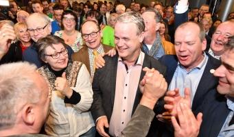 Nieuw Elan wint bij voorlopige verkiezingsuitslag