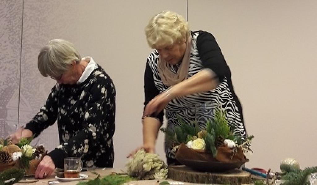 Workshop bloemschikken Swaenswijk