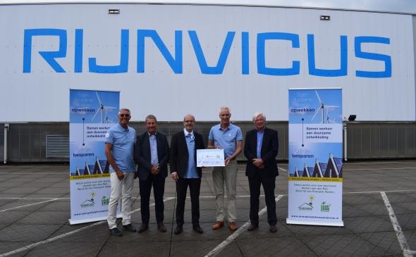 Ondertekening Greendeal voor 1.750 zonnepanelen