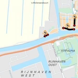 Gnephoek en Churchilllaan in Alphen aan den Rijn