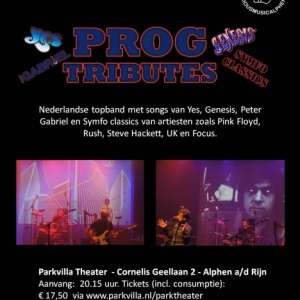 Progtributes in het Parkvilla Theater