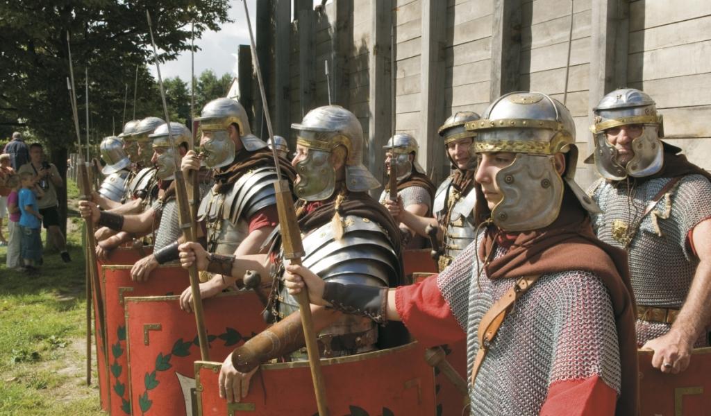 Eind juni Romeinenweekend in het Alphense centrum