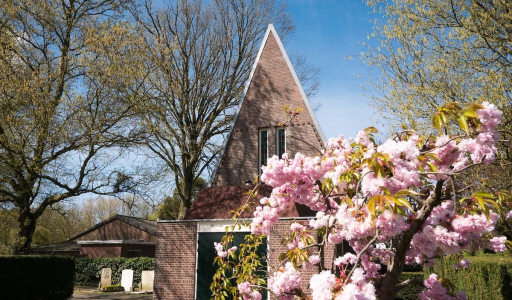 Begraafplaats in Zwammerdam