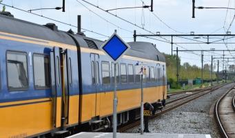 Geen treinverkeer rond Alphen door wisselstoring