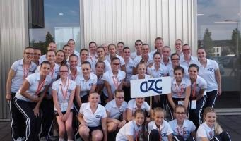 Vier medailles voor synchroonzwemsters van AZC