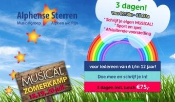 Musicalkamp voor kinderen