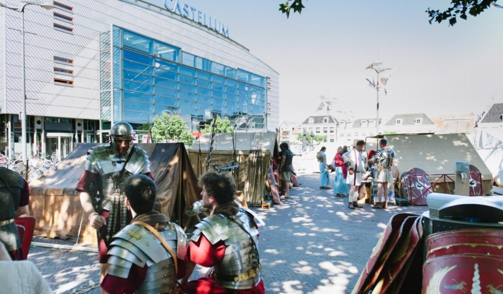 Alphens Romeinenweekend van 'A tot Z geslaagd'