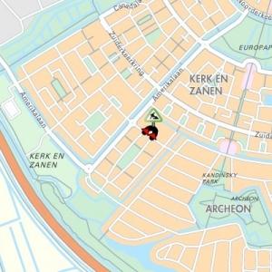 Vroomhoevelaan in Alphen aan den Rijn