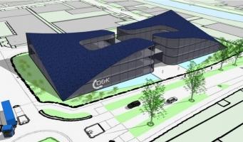 Speciale zonnepanelen op nieuwbouw D&K Automotive Glass