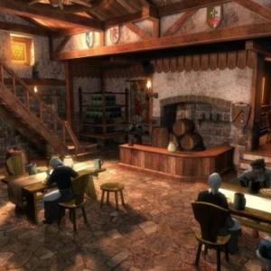 Het huisinterieur in de middeleeuwen
