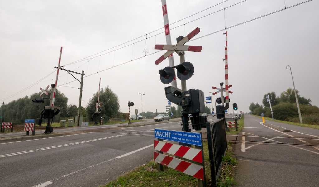Spoorovergang Gemeneweg Hazerswoude-Rijndijk