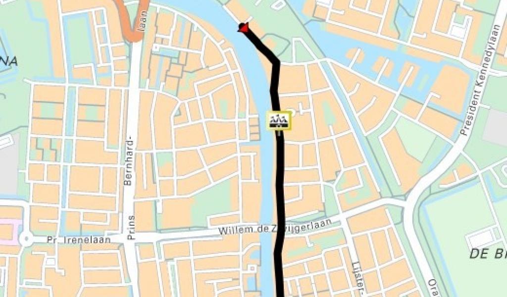 Oudshoornseweg en Hooftstraat Alphen aan den Rijn