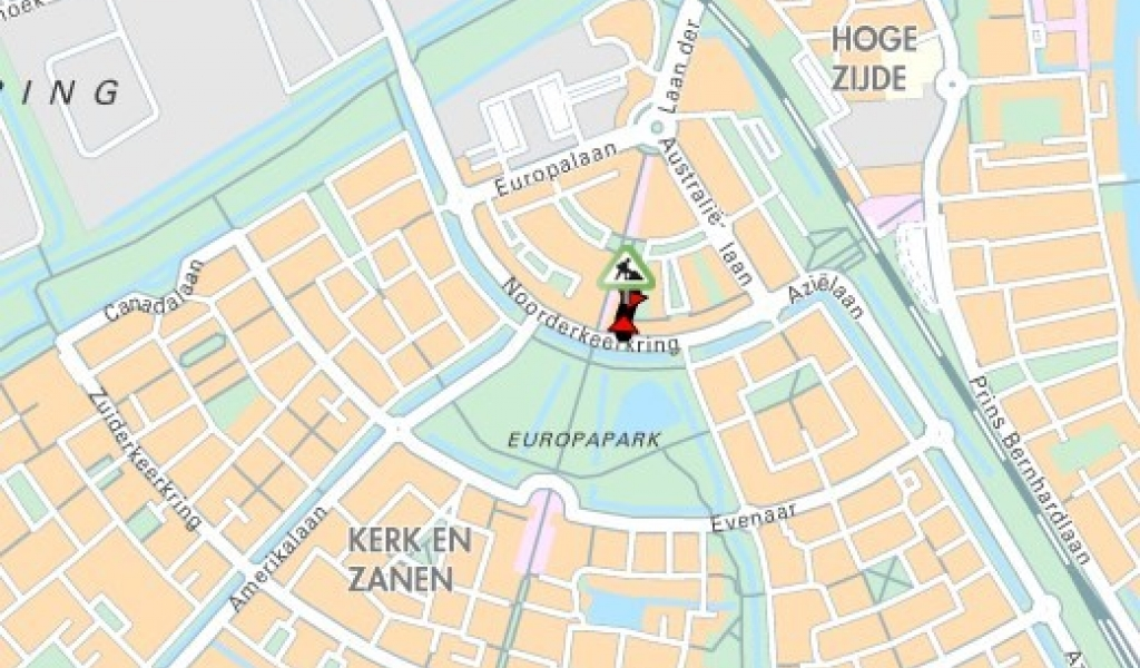Drenthestraat in Alphen aan den Rijn