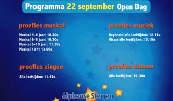 Open Dag bij Alphense Sterren