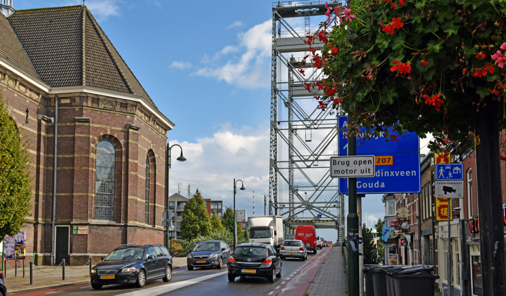 Hefbrug in Boskoop