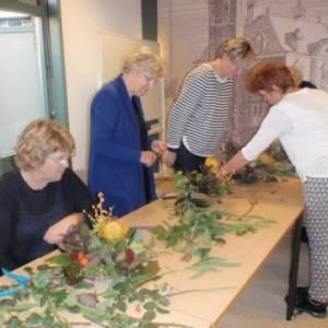 Workshop bloemschikken