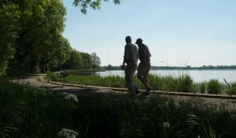 Wandelpad langs de Zegerplas in Alphen aan den Rijn
