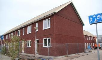 In twee weken tijd elf nieuwe woningen Concertweg